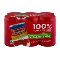 Campbell's Tomato Juice From Concentrate 5.5oz EA 6PK product image