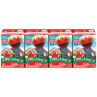 Apple & Eve Organic Elmo's Punch 100% Juice 8CT of 4.23oz Boxes product image