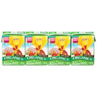 Apple & Eve Organics Big Bird's Apple Juice 100% Juice 4CT of 4.23oz Boxes product image