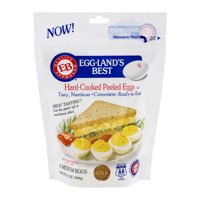 Eggland's Best Hard Cooked Peeled Eggs Medium 6CT PKG product image