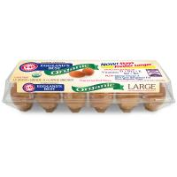 Eggland's Best Brown Grade A Large Cage Free Organic 1 Dozen product image