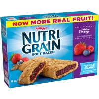 Kellogg's Nutri-Grain Cereal Bars Mixed Berry 8CT 10.4oz Box product image