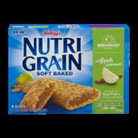 Kellogg's Nutri-Grain Cereal Bars Apple Cinnamon 8CT 10.4oz Box product image