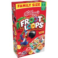 Kellogg's Froot Loops Cereal 19.4oz Box product image