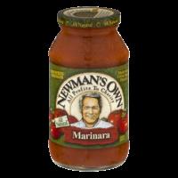 Newman's Own Marinara Pasta Sauce 24oz Jar product image