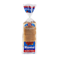 Nature's Own White Wheat Healthy White Bread 20oz PKG product image
