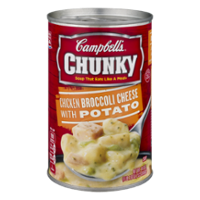 Campbell's Chunky Soup Chicken Broccoli Cheese & Potato 18.8oz Can product image