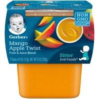 Gerber 2nd Foods Mango Apple Twist 4oz 2PK product image