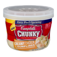 Campbell's Chunky Soup Bowl Chicken & Dumplings 15.2oz BWL product image