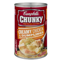 Campbell's Chunky Soup Creamy Chicken & Dumplings 18.8oz Can product image