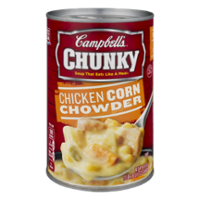 Campbell's Chunky Soup Chicken Corn Chowder 18.8oz Can product image