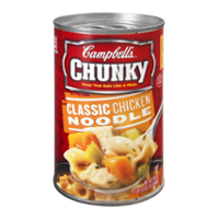 Campbell's Chunky Soup Classic Chicken Noodle 18.6oz Can product image