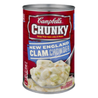 Campbell's Chunky Soup New England Clam Chowder 18.8oz Can product image