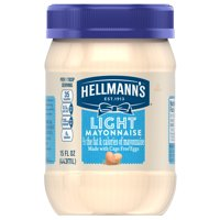 Hellmann's Mayonnaise Light 15oz Jar product image