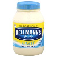 Hellmann's Mayonnaise Light 30oz Jar product image