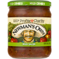 Newman's Own Salsa Chunky Mild 16oz Jar product image