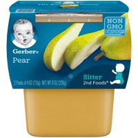 Gerber 2nd Foods Pears 4oz 2PK product image