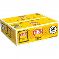 Lay's Potato Chips Snack Bags 50CT 1oz EA Bag product image