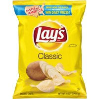 Lay's Potato Chips Classic 8oz Bag product image