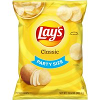 Lay's Potato Chips Classic Party Size 13oz Bag product image