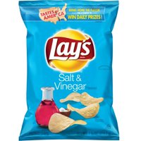 Lay's Potato Chips Salt & Vinegar 7.75oz Bag product image