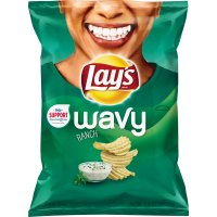 Lay's Wavy Potato Chips Ranch 7.5oz Bag product image