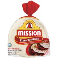 Mission Flour Tortillas Small Size 20CT 23oz PKG product image