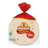 Mission Flour Tortillas Small Size 20CT 23oz PKG product image