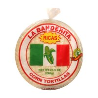 La Banderita White Corn Tortillas 30CT 27.5oz. PKG product image