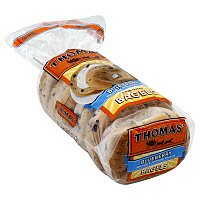 Thomas' Bagels Blueberry 6CT 20oz PKG product image