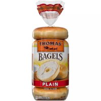 Thomas' Bagels Plain 6CT 20oz PKG product image