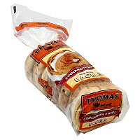 Thomas' Bagels Cinnamon Swirl 6CT 20oz PKG product image
