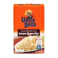 Uncle Ben's Rice Brown Instant Whole Grain 14oz Box product image