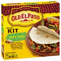 Old El Paso Dinner Kit Soft Tacos 10CT 12.5oz Box product image