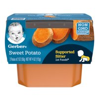 Gerber 1st Foods Sweet Potatoes 2oz 2PK product image