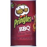 Pringles Potato Crisps Barbecue Grab & Go! Stack 2.5oz product image