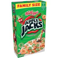 Kellogg's Apple Jacks Cereal Family Size 19.4oz Box product image