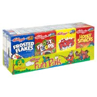 Kellogg's Cereal Fun Pak 8CT 8.56oz Total product image