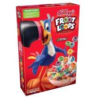 Kellogg's Froot Loops Cereal 10.1oz Box product image