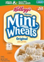 Kellogg's Frosted Mini Wheats Cereal 24oz Box product image
