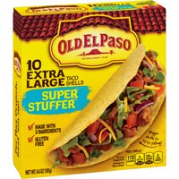 Old El Paso Taco Shells Super Stuffers Size 10CT 6.6oz Box product image