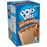 Kellogg's Pop-Tarts Frosted Brown Sugar Cinnamon 8CT 14oz Box product image