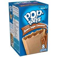 Kellogg's Pop-Tarts Frosted Brown Sugar Cinnamon 8CT 14oz Box product image