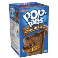 Kellogg's Pop-Tarts Frosted Chocolate Fudge 8CT 14.7oz Box product image