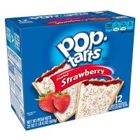 Kellogg's Pop-Tarts Frosted Strawberry 12CT 22oz Box product image