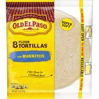 Old El Paso Flour Tortillas Burrito Size 8CT 11oz PKG product image