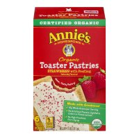 Annie's Organic Toaster Frosted Pastries Strawberry 11oz Box product image