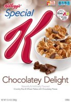 Kellogg's Special K Chocolatey Delight Cereal 13.2oz Box product image