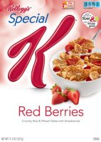 Kellogg's Special K Red Berries Cereal 16.9oz Box product image