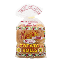 Martin's Potato Sandwich Rolls 8CT 15oz PKG product image